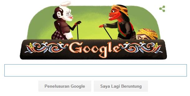 WoW !! Foto Asep Sunandar Sunarya Seorang Dalang Indoneia Tampil Di Halaman Google Doodle
