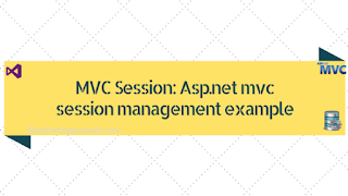 Asp.net mvc session management example