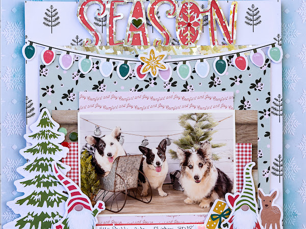 'Tis the Season with Scrapbook.com and Fancy Pants