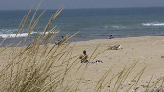 Playa cortadura de cadiz