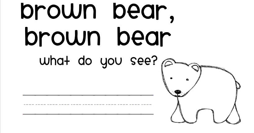 Mrs. Ricca's Kindergarten: Back to School & Brown Bear