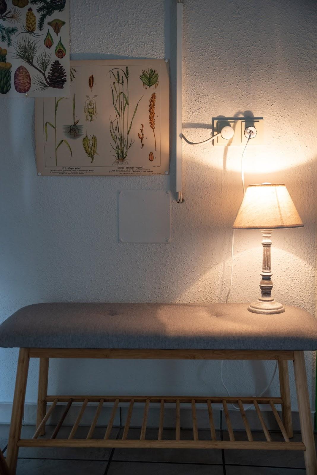 Garderobe Mikado aus Bambus. Nachhaltig und schön von WENKO. Standgarderobe und Sitzbank Bahari