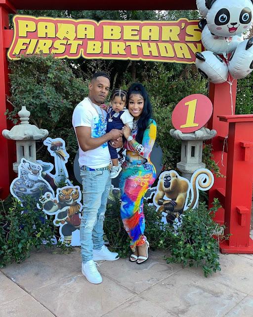 Check out More Photos from Nicki Minaj Son's birthday