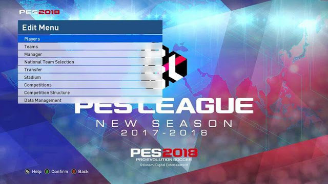 PES 2018 Graphic For PES 2017