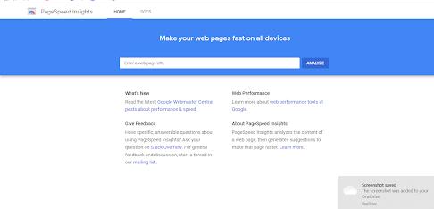 Page Speed Insights Tool Google  ka hi ek product hai  jisko Use Karne se Aap se Aap  Apni Website Ki speed Check Kar sakte hai.Internet Par jitne Bhi speed checker Tool hai