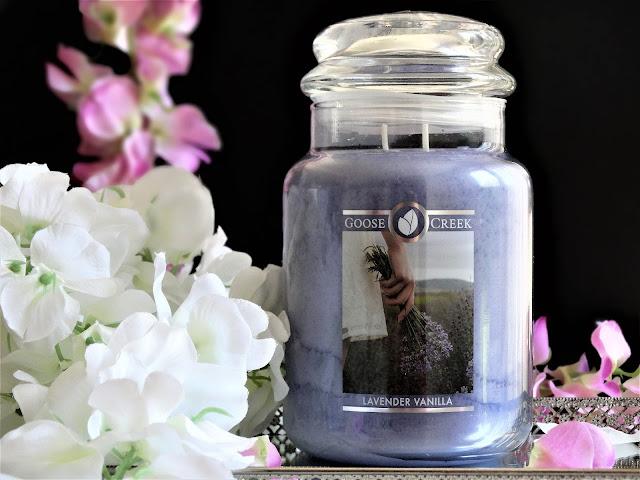 avis lavender vanilla goose creek, lavender vanilla goose creek candle review, bougie lavender vanilla goose creek, bougie à la lavande