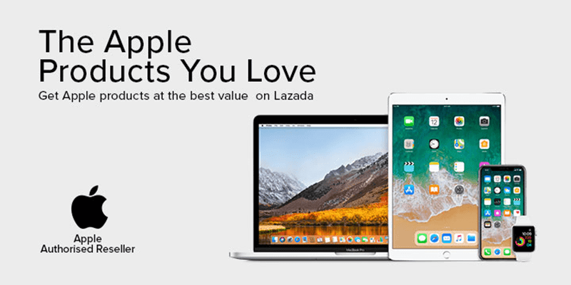 Lazada is an Apple Authorized Reseller