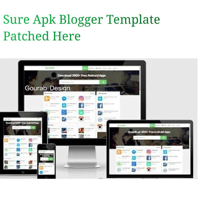 sure apk blogger template image