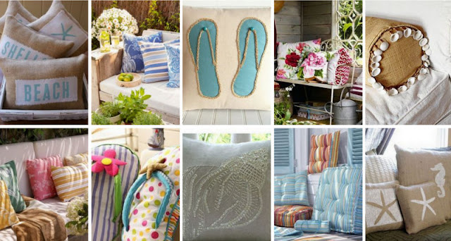 Διακοσμητικά μαξιλάρια για το σπίτι και το μπαλκόνι