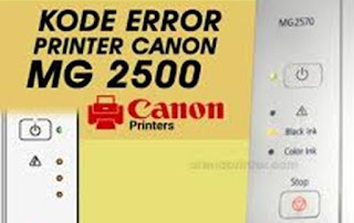 Cara Reset Printer Canon MG2500