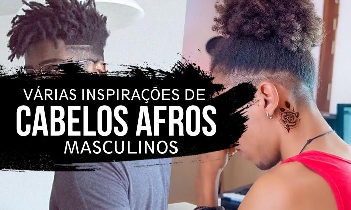 Cortes de Cabelo Masculino Afros e Crespos