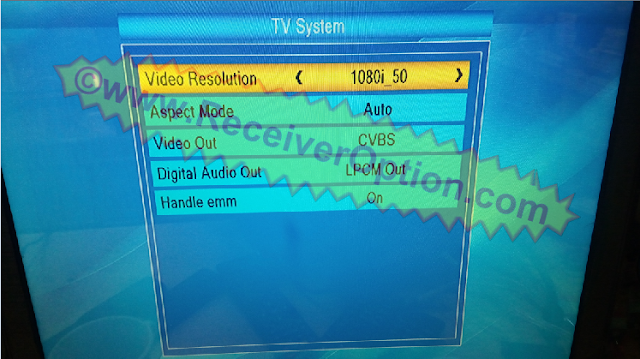 SUPERMAX SM 2350 POWER TECH HD RECEIVER BISS KEY OPTION