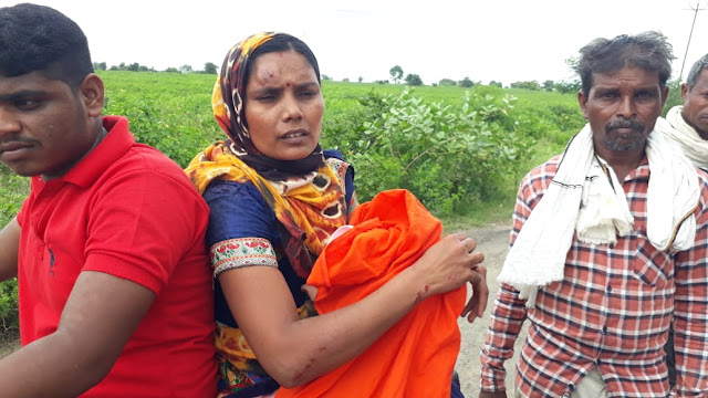 'दुचाकीला अपघात आई सह बाळ गंभीर जखमी'