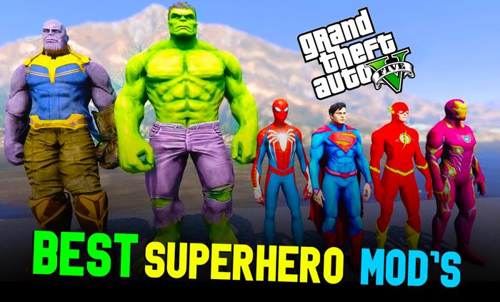 Top10 Best & Coolest GTA 5 Superhero Mods