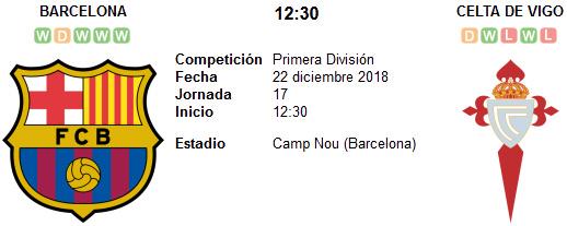 Barcelona vs Celta de Vigo en VIVO