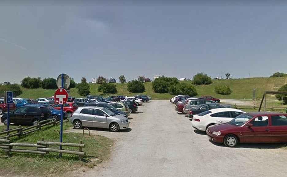 parking playa salvaje