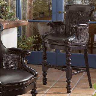 Tommy bahama bar stool at Baer's Furniture