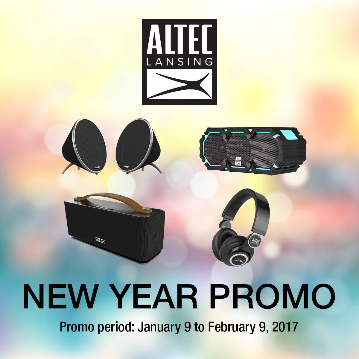 Altec Lansing New Year Special Promo