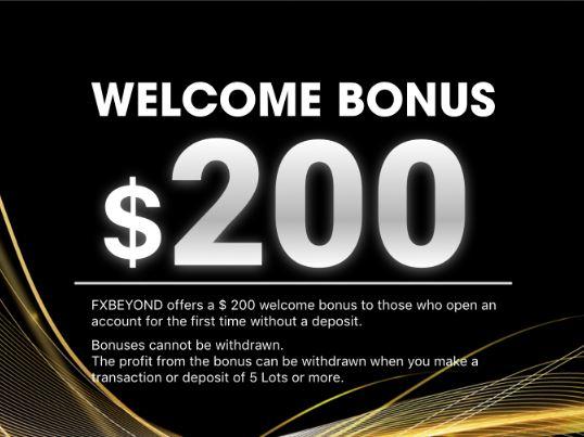 FXBeyond $200 Forex No Deposit Bonus