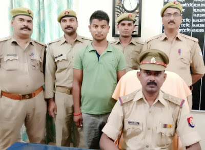 Absconding Accuse Arrested By Police Uttar Pradesh