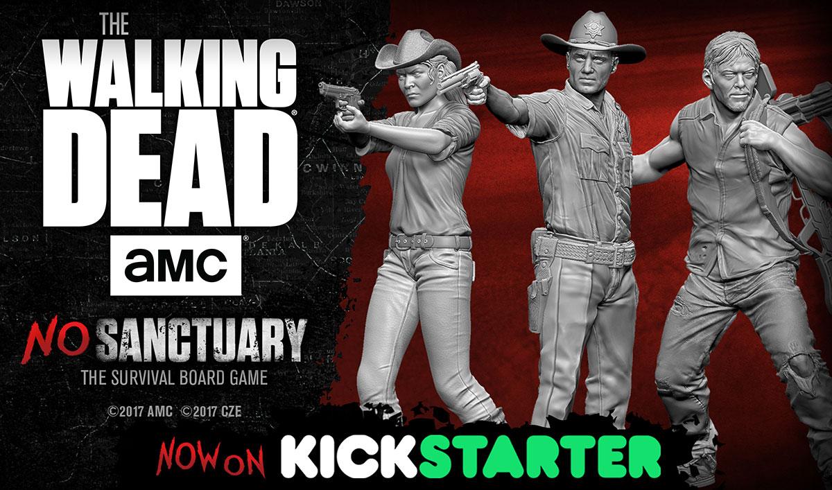 The walking dead no sanctuary nuovo gioco da tavolo - Zombie side gioco da tavolo ...