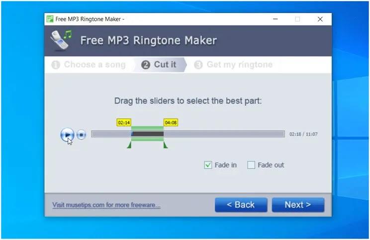 MP3 Ringtone Maker:  Ο πιο απλός τρόπος  για να μετατρέψτε MP3 σε Ringtone