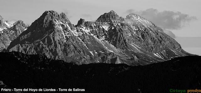 vistas al macizo central de Picos de Europa