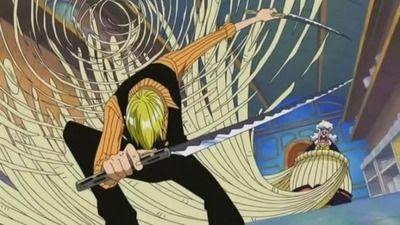 sanji lần đấu đánh nhau bằng tay