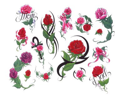 free tattoo designs images flowers