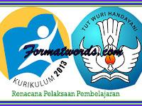 Contoh RPP Kurikulum 2013 SD Kelas 1,2,3,4,5,6 Revisi Terbaru