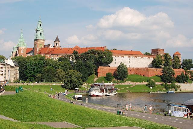 Cracovie colline du Wawel