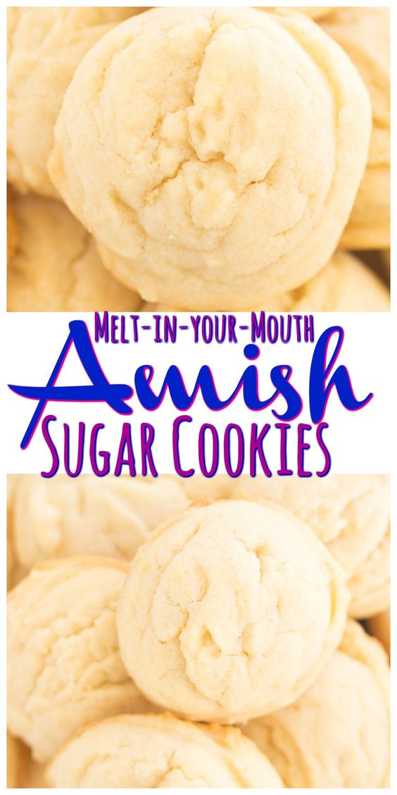 AMISH SUGAR COOKIES #recipes #dessertrecipes #easyrecipes #easydessertrecipes #food #foodporn #healthy #yummy #instafood #foodie #delicious #dinner #breakfast #dessert #lunch #vegan #cake #eatclean #homemade #diet #healthyfood #cleaneating #foodstagram
