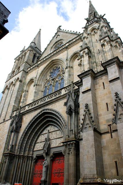 La Cattedrale di Sain Pierre di Vannes è sede vescovile