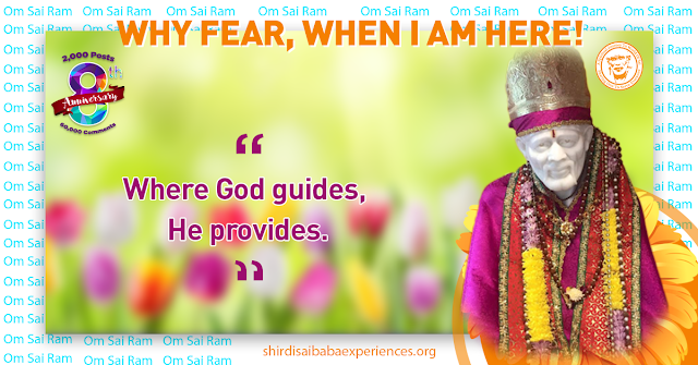 Sai Help Us And Guide Us - Anonymous Sai Devotee