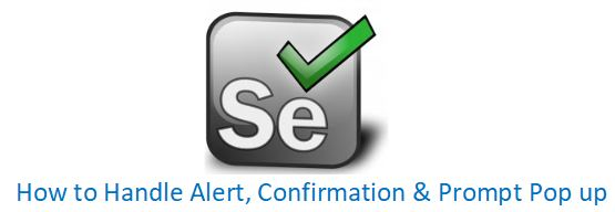 How To Handle Javascript Alerts/PopUps In Selenium