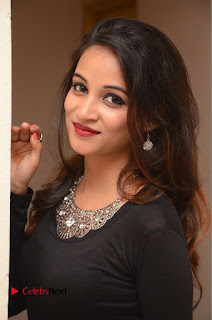 Actress Sana Pictures in Floral Skirt at Neerajanam Audio Launch  0012.JPG