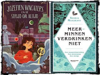 Gelezen jeugdboeken in november Jozefien Wachters en de strijd om altijd en Meerminnen verdrinken niet