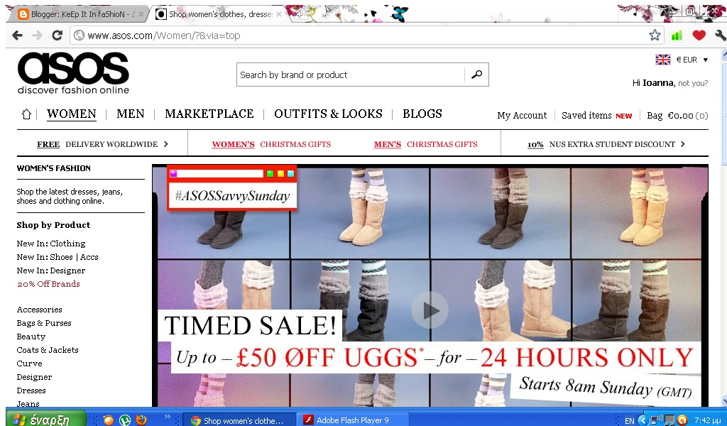 fresh styles best sale discount UGG -£50 from Asos.com only for Sunday - KeEp It In faShioN