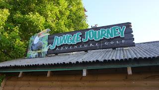 Jungle Journey Adventure Golf in Torquay, Devon