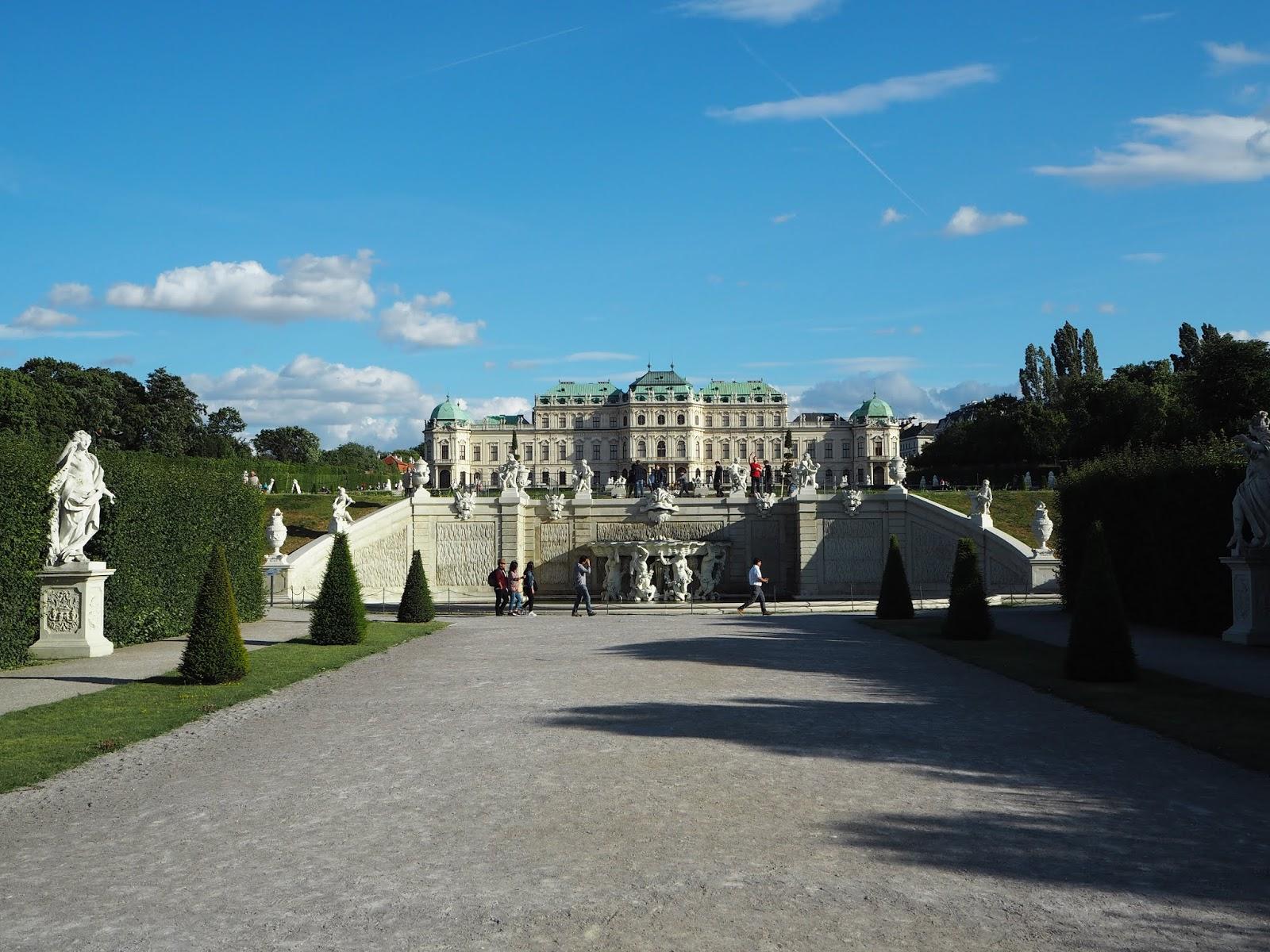 palace belvedere in vienna