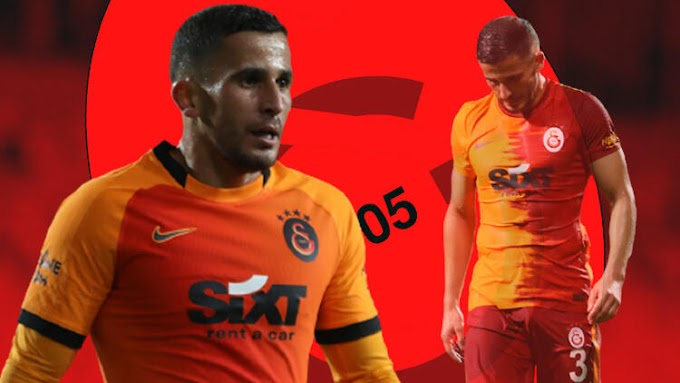 Galatasaray'da Omar Elabdellaoui hastaneye kaldırıldı! Görme kaybı ihtimali bulunuyor...