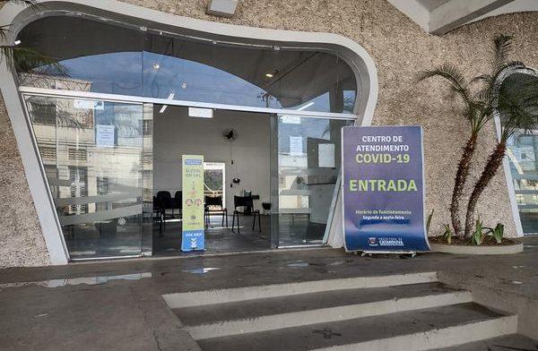 Centro Covid de Catanduva funcionará até sexta-feira