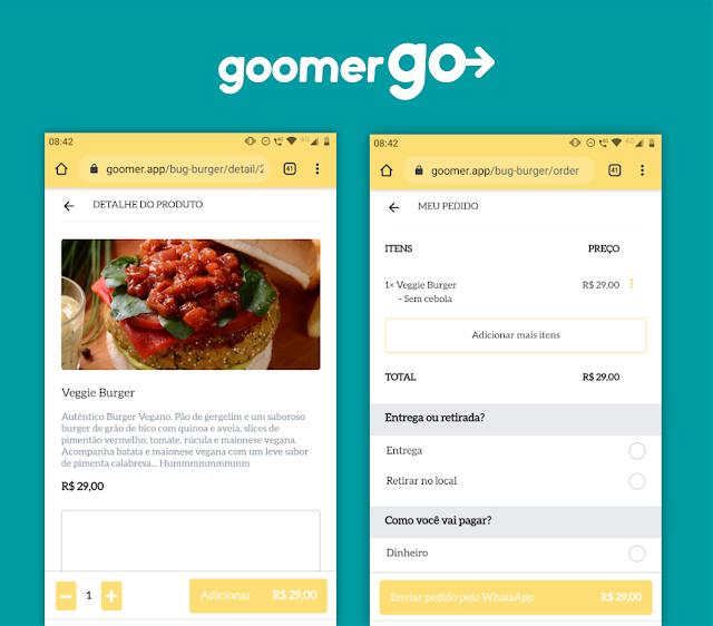 Plataforma Goomer Go