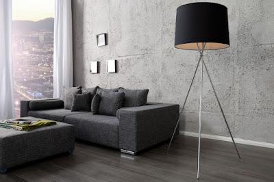 moderný nábytok Reaction, stojanové svietidlá, lampy na trojnožke