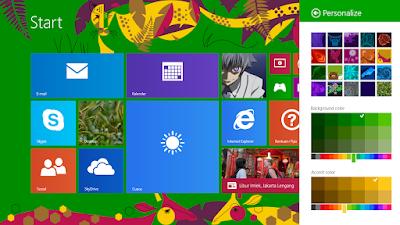 Cara Mengganti Tampilan Start Screen Windows 8.1 13