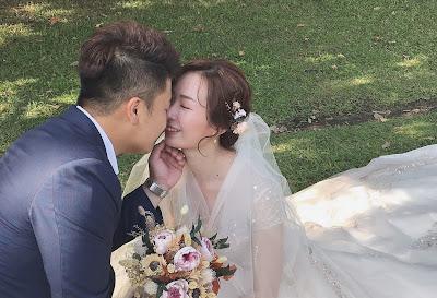 新娘秘書推薦 單妝迎娶新娘造型 同場戶外婚紗攝影