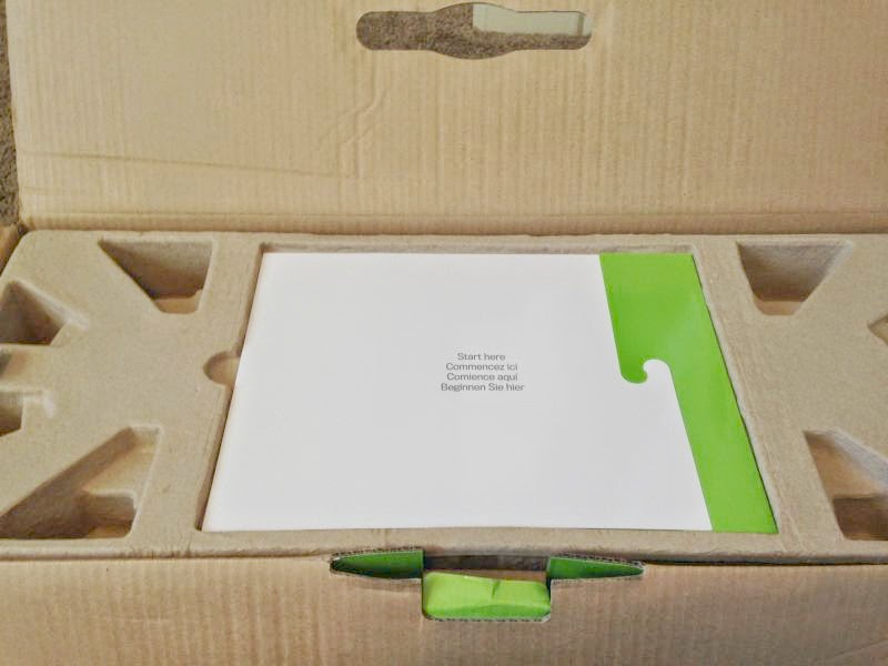 Cricut Explore Air Out of the Box - booklet in box