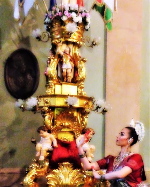 Danza Classica Indiana Odissi Sicilia Catania Marialuisa Sales