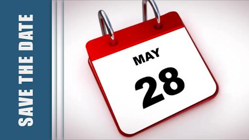 Δευτέρα 28 Μαΐου - Save the Date