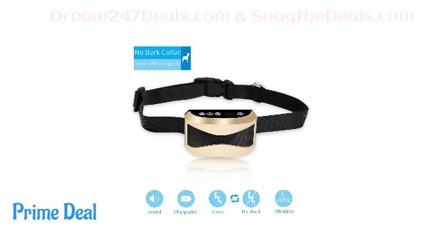 Uuzzii Bark Collar - Upgrade Sensitivity  50% OFF